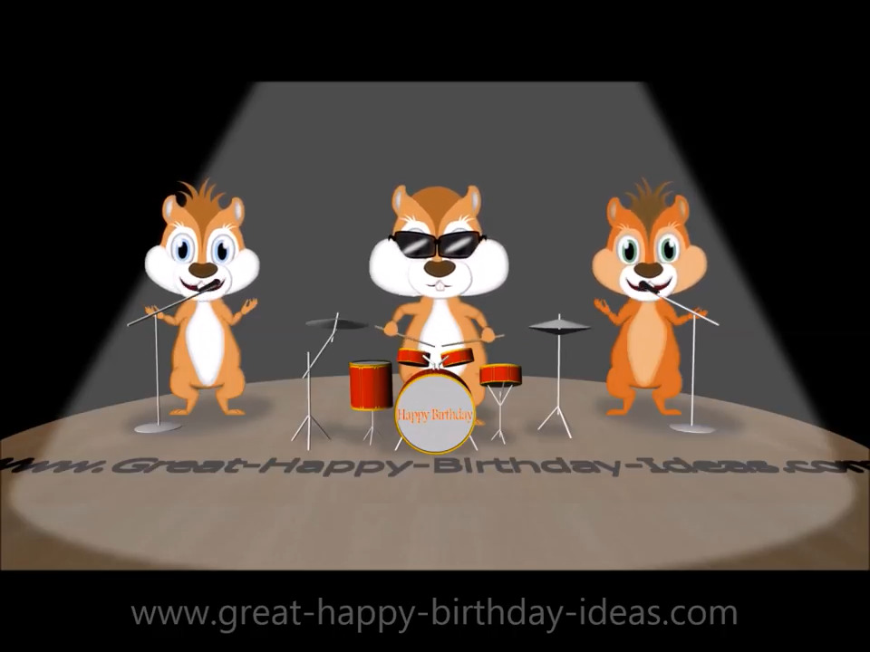 Chipmunks Happy Birthday