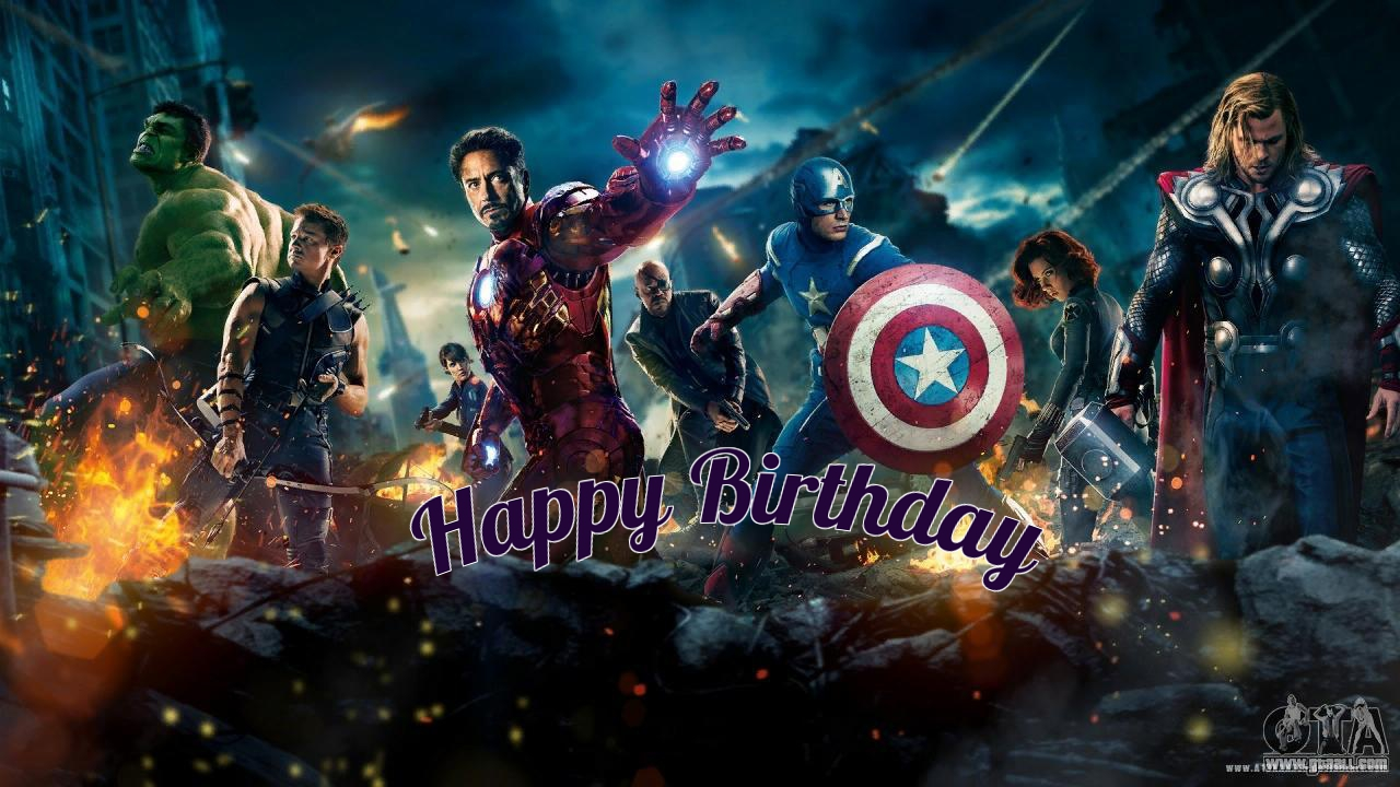 avengers-Infinity-war1 birthday cards