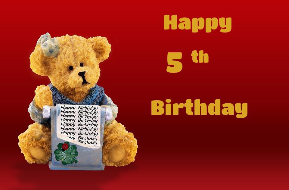 bears birthday cards