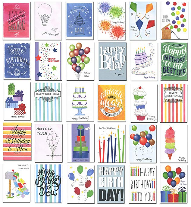 paper birthday cards