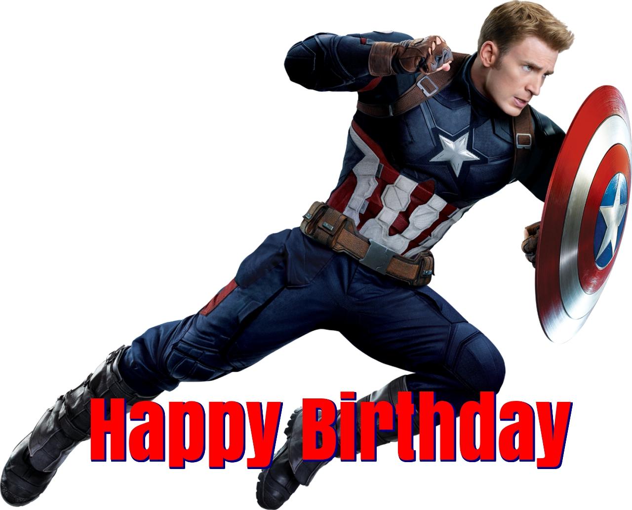 super heros birthday cards
