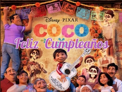 Coco birthday cards