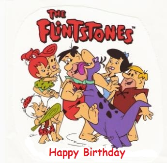 flintstones birthday