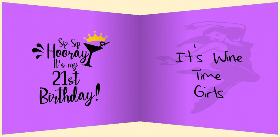 birthday cartoon card