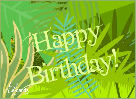jungle-birthday singing cards