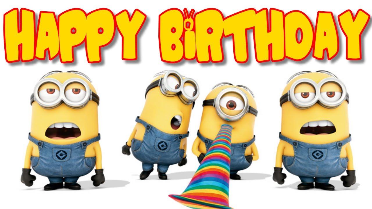minions birthday cards