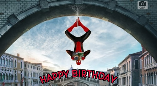 spider-man-far-from-home greeting cards